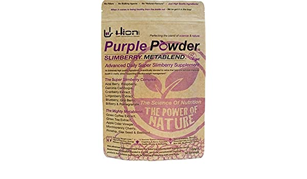 Amazon.com: Hion Purple Powder Slimberry Metablend Blend 150g: Health & Personal Care