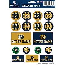 Notre Dame Sticker Sheet 5x7