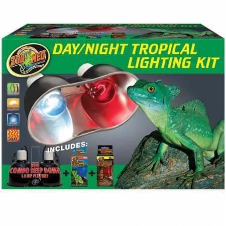 (Zoo Med Day/Night Tropical Lighting Kit )