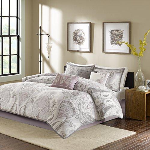 Samir 7 Piece Comforter Set, Queen, Purple