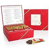 Tea Forté Single Steeps Loose Leaf TEA CHEST, Limited Edition Loose Leaf Tea Reserve, Varietal Special Teas (VST) Sampler, 28 Single Serve Pouches – Black Tea, Green Tea, Herbal Tea