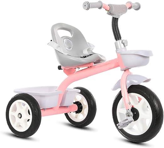 NBgy Triciclo, Bicicleta De Tres Ruedas para Niños Multifunción 3 ...