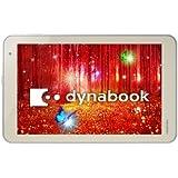 東芝 Windows タブレット dynabook tab S38サテンゴールド(WIN8.1with Bing 32Bit/Z3735F/2GB/8.0型/Office Home & Business2013搭載) PS38PGP-NXA