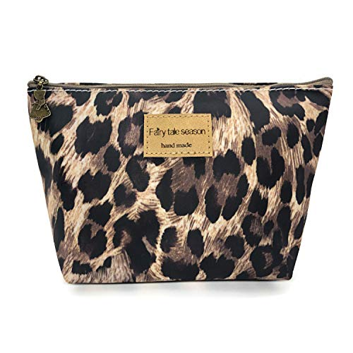 HUNGER Leopard Print Make-Up Cosmetic Tote Bag Carry Case, 14 Patterns (P1141704) (Leopard Cosmetic)