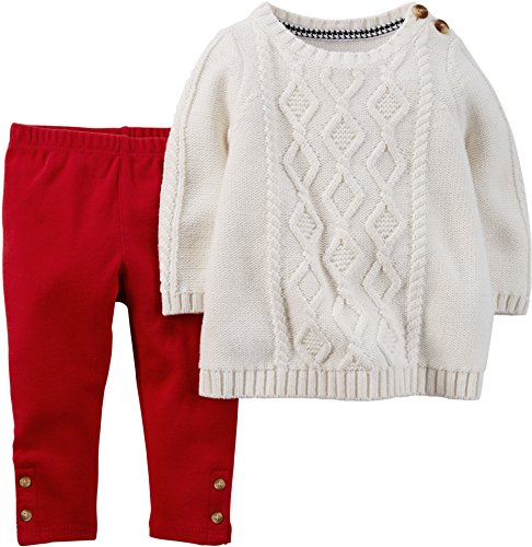 Carters Clothing Outfit 2 Piece Cable Knit