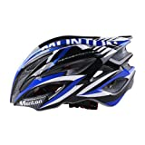 Monton Outdoor Sports Knight Series Bicycle Cycling Helmets Road Bike Various Colors (Knight/Blue, L/XL)