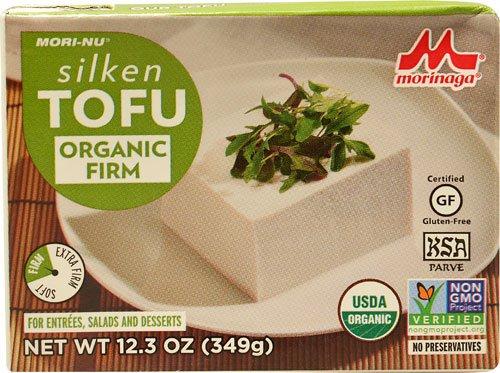 Mori Nu Organic Silken Tofu Firm -- 12.3 oz - 2 pc