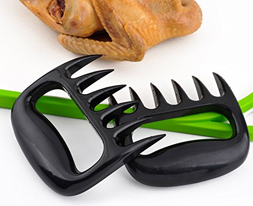 MEAT CLAWS Pulled Pork Shredder - For Perfectly Shredded Meat, These Are The Bear Claws You Need - Best Bear Claws Meat Shredder For BBQ, Smoker, Grill - Shred Your Meat, Don't Burn Your Hands!(Set of by Eohak (Image #3)