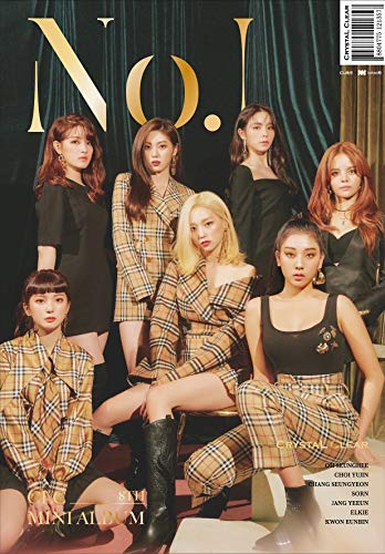 Cube Entertainment CLC 8th Mini Album [No.1] - Pack of CD, Booklet, Photocard, Folded Poster with Pre Order Benefit, Extra Decorative Sticker Set, Photocard Set