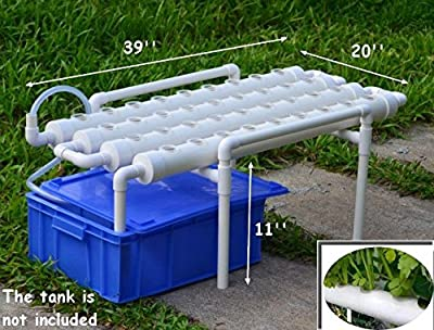 Hydroponic Site Grow Kit 36 Ebb and Flow Deep Water Culture Garden System