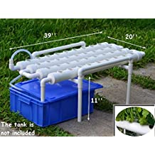 Hydroponic Site Grow Kit 36 Ebb and Flow Deep Water Culture Garden System(Item#141067)