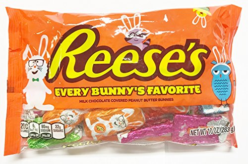 Reese's Milk Chocolate & Peanut Butter Bunnies 10 oz. (Pack of 2)