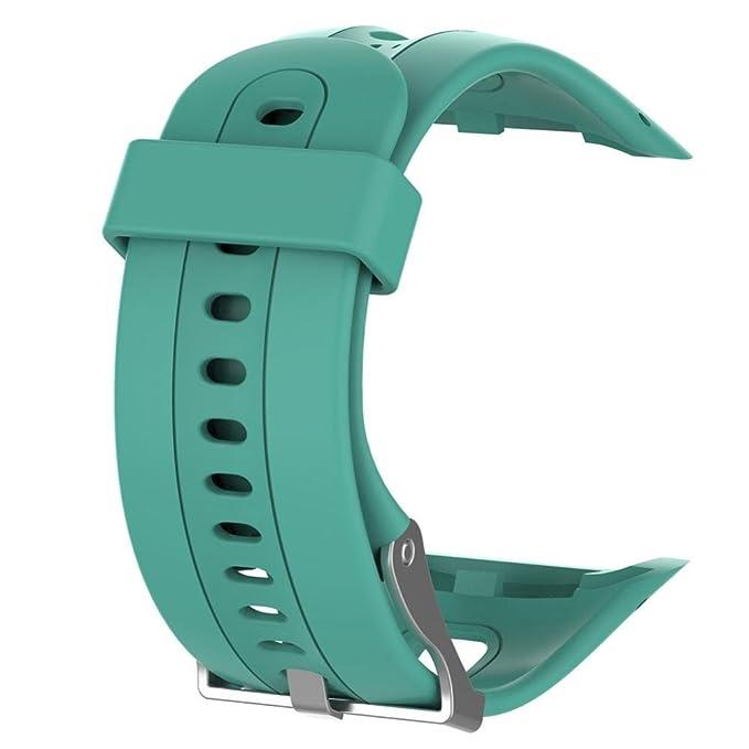 Glorrt Replacement Wrist strap Silicagel Soft Band Strap For Garmin Forerunner 10