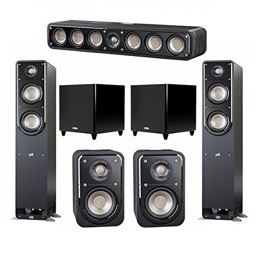 Buy Polk Audio Signature 5.2 System with 2 S50 Tower Speaker, 1 Polk S35 Center Speaker, 2 Polk S10 Surround Speaker, 2 Polk DSW PRO 550 wi Subwoofer (online)