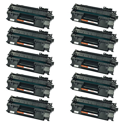AMTONER 10 PK Compatible High Yield Replacement for Canon 120 CRG-120 120 CRG120 Toner Cartridge Black Imageclass D1550 1150 D1550 D1520 D1320 D1120 D1350 D1150 D1170 D1180 D1370 D1550 Ink Printers (Black 120 Toner Cartridge)