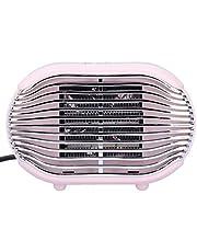 Ruimteverwarmer, draagbare elektrische groothoek-bureauverwarmer, 800W mini-badkamer voor thuiskantoor