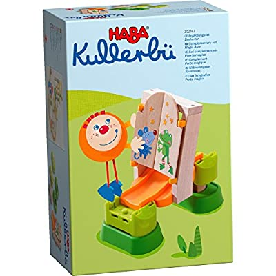 HABA Kullerbu Accessory Set - Magic Door for Use with the Kullerbu Ball Track and Vehicle System: Toys & Games