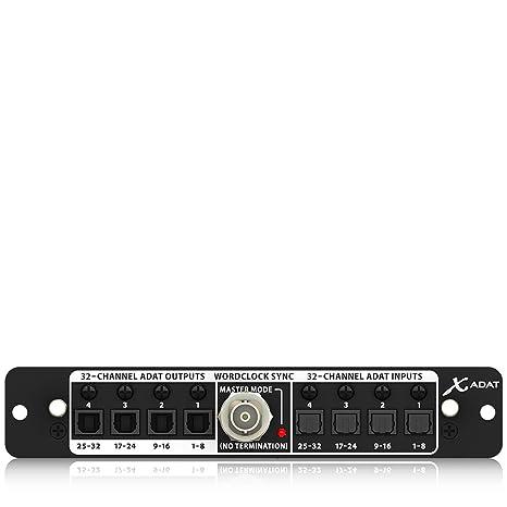 Behringer X-ADAT - Interface de audio hibrida: Amazon.es ...