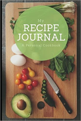 My recipe journal a personal cookbook large cutting board design my recipe journal a personal cookbook large cutting board design 6 x 9 blank book durable cover 100 pages for handwriting recipes handwritten forumfinder Gallery