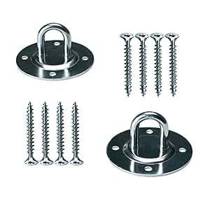 Ganchos marca IKEA para suspensión desde el techo, conjunto de 2 ganchos con 8 tornillos «spax»