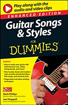 guitar songs and styles for dummies enhanced edition for dummies sports hobbies kindle. Black Bedroom Furniture Sets. Home Design Ideas