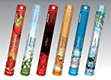 monthlysupply Flute Brand Hexa Multiple Scents - 20 Sticks/Pack - 6 Packs/Box - Choose from over 20 Fragrances - Wholesale Deal - Great Bargain (1 Box)