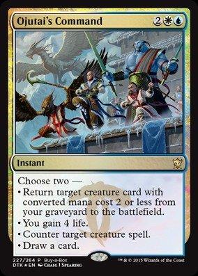 Magic: the Gathering - Ojutai's Command (227/264) - Unique & Misc. Promos - Foil