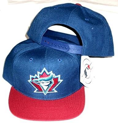Toronto Blue Jays Two Tone Plastic Snapback Snap Back Hat/Cap