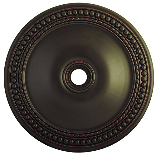 Livex Lighting 82078-67 Wingate Ceiling Medallion, Olde Bronze