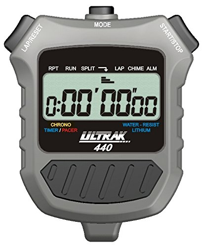 Ultrak 440 Lap or Cum Timer (Set of 6) by Ultrak