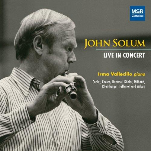 John Solum - Live In Concert: Works for Solo Flute