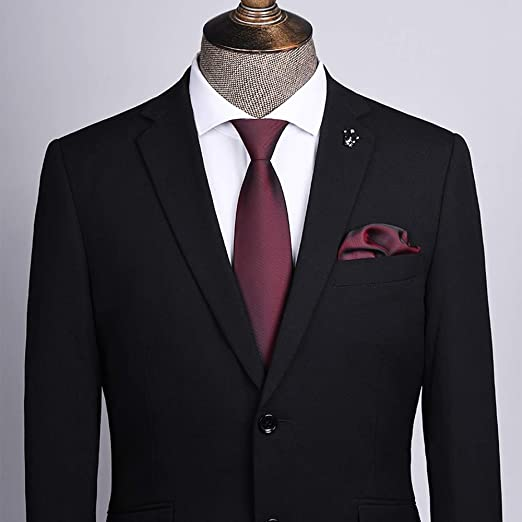 YiCan Corbata Negra Corbata Formal Formal For Hombres/Overol ...