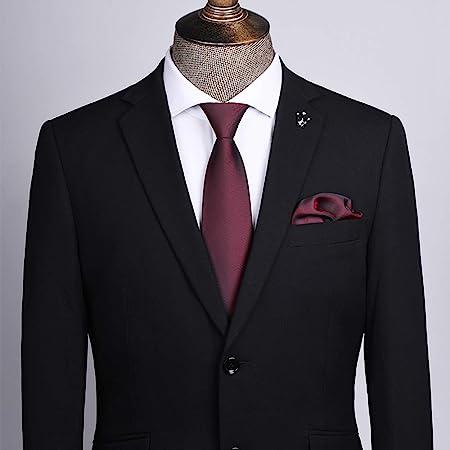 Corbata Negra Corbata Formal Formal For Hombres/Overol Camisa ...