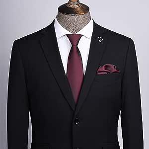 YiCan Corbata Negra Corbata Formal Formal For Hombres ...