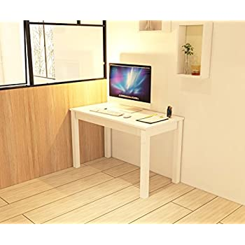Amazon Com White Wood Desk Desktop Computer Desk Dining