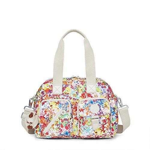 Kipling Women's Defea Printed Handbag One Size Color Burst Bright