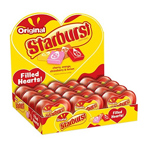 Starburst Heart (STARBURST Original Filled Valentines's Day Heart 2.1 Ounce, 12-Count)