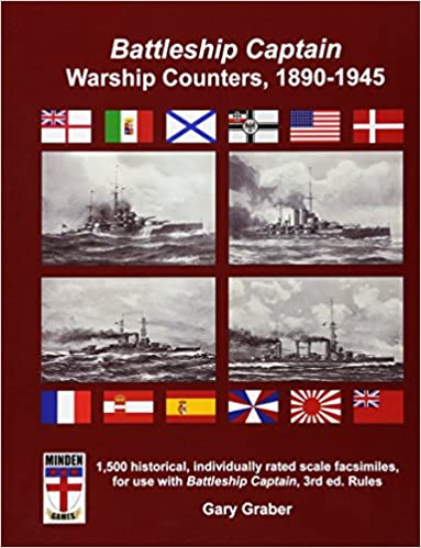 Battleship Captain Warship Counters, 1890-1945: Gary Graber