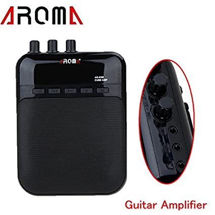 PyLios(TM)Mini Electric Guitar Amp 5V 3W Portable Guitarra Amplificador Audio MP3 Player