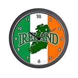 Cheap CafePress – Ireland Wall Clock – Unique Decorative 10″ Wall Clock
