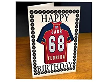 b884323cba2 MyShirt123 NHL NATIONAL HOCKEY LEAGUE ICE HOCKEY JERSEY FRIDGE MAGNET  BIRTHDAY CARD - NHL EASTERN CONFERENCE