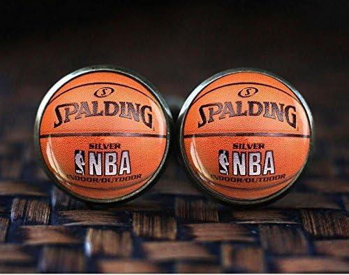 Gemelos de baloncesto, joyería de baloncesto, regalo de baloncesto ...