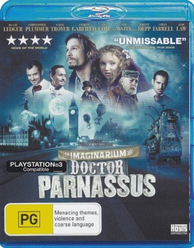 The Imaginarium of Doctor Parnassus [NON-USA Format, Region B [Blu-Ray] Import - Australia]