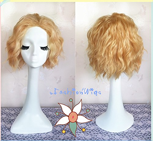ONE PIECE Sabot Cosplay Wig, Short Golden Color Costume for sale  Delivered anywhere in Canada