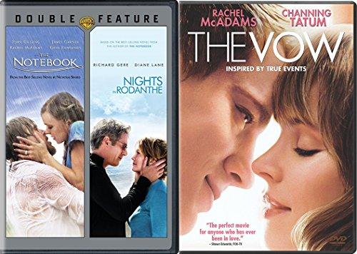Nicholas Spark 3-Movie Bundle - The Notebook, Nights of Rodanthe & The Vow