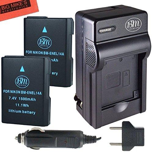 BM Premium EN EL14 EN EL14A Battery