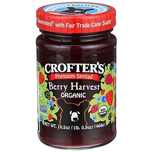 - Crofter's Organic, Premium Spread, Berry Harvest Organic, 16.5 oz(Pack of 2)