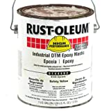 Rust-Oleum 9100 System Industrial DTM Epoxy Mastic Safety Yellow
