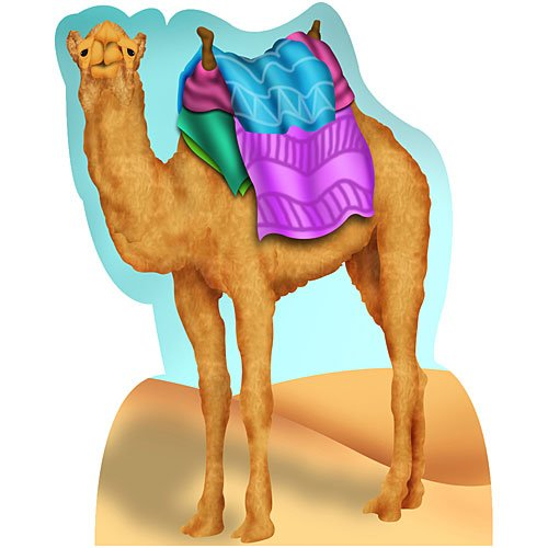Camel Standee India Party Prop