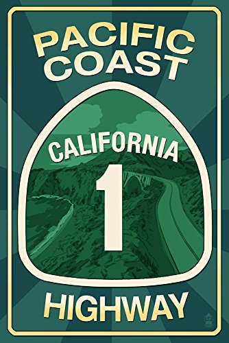 Highway 1, California - Pacific Coast Highway Sign, used for sale  Delivered anywhere in USA